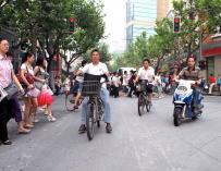 El tráfico en Shangai es insostenible / Michell Zappa