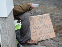 El 68% de personas sin techo atendidas en Casa Caridad son de nacionalidad española, 8 puntos más que en 2016