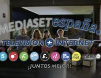 Mediaset anuncio de Internet