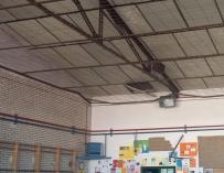Colegio en Getafe afectado por amianto