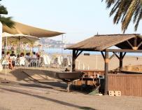 """Empresarios de playa esperan que """"el buen tiempo"""" compense los efectos de una Semana Santa temprana"""