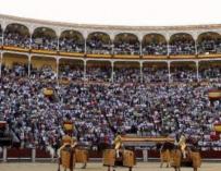 Las obras de la plaza de toros de Las Ventas podrían durar dos años