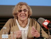 Carmena contesta este martes a las preguntas de las entrevistas colectivas desde la web Decide Madrid