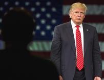 Fotografía de Donald Trump, presidente de Estados Unidos
