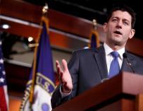 El presidente de la Cámara de Representantes, el republicano Paul Ryan.