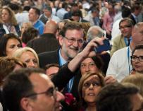 Rajoy, en el Congreso de su partido