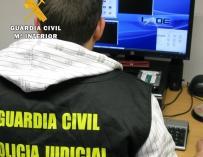La Guardia Civil de Burgos destapa un entramado internacional de estafas a través de Internet