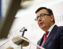 El ministro de Economía, Román Escolano.