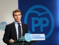 """Casado (PP) a los independentistas: """"Lo mejor es que reconozcan que han fracasado y den paso a un nuevo momento"""""""