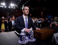 Fotografía de Zuckerberg, declara en EEUU por el caso Cambridge Analytica