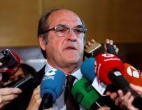 El portavoz del grupo parlamentario PSOE en la Asamblea de Madrid, Ángel Gabilondo