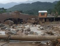 Desastre por avenidas torrenciales en Mocoa