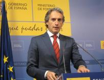 El ministro Íñigo de la Serna.