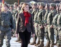 María Dolores de Cospedal, ministra de Defensa.
