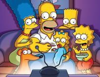 Fotografía de Los Simpson.