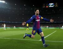 Fotografía de Lionel Messi, jugador del FC Barcelona