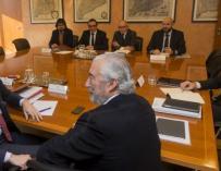 Íñigo de la Serna Julio Gómez Pomar y Juan Bravo.