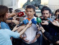 El secretario de Análisis Estratégico de Podemos, Íñigo Errejón