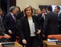 Fátima Báñez en el Pacto de Toledo
