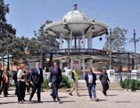 Rajoy pasea por Baleares