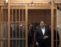 """Junqueras dice ahora que acata el 155 y promete actuar desde """"el diálogo"""""""