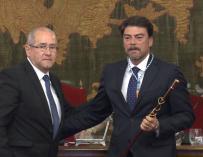 Barcala, nuevo alcalde de Alicante