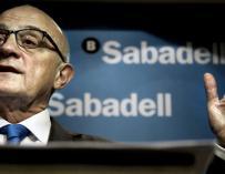 El presidente del Banco Sabadell, Josep Oliú.