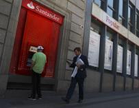 Fotografía Banco Santander sucursal