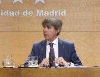 Ángel Garrido muestra su apoyo y cariño a la periodista Mari Pau Domínguez