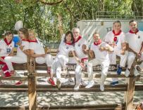 El equipo de TVE para los Sanfermines 2017