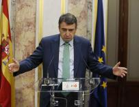 Aitor Esteban, portavoz del Grupo Parlamentario Vasco.