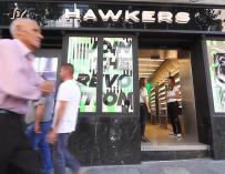 Hawkers abre tienda en Madrid