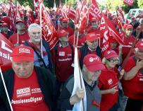 Fotografía manifestaciones pensiones