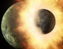 El impacto de un planeta como Mercurio rellenó de carbono la Tierra