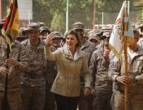 Fotografía Cospedal militares