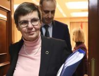 Fotografía La presidenta de la Junta Única de Resolución (JUR), Elke König. Kiko Huesca