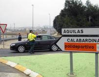Localizan al conductor de un turismo implicado presuntamente en el atropello a un ciclista en Águilas