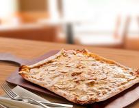 Una de las pizzas de la cadena de comida italiana (Foto: @LaTagliatella)