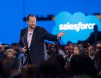 El CEO de Salesforce, Marc Benioff.