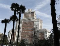 Riu logra licencia de obras para el Edificio España de Madrid