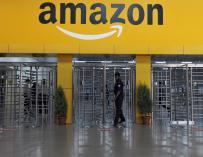 Imagen de uno de los centros de Amazon.