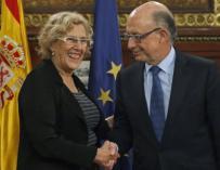 Hacienda tutelará operaciones financieras del Ayuntamiento de Madrid