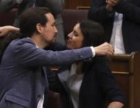 Pablo Iglesias e Irene Montero anuncian que esperan mellizos