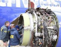Confirman un muerto en el aterrizaje de emergencia de un avión en Filadelfia.
