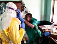 Fotografía ébola