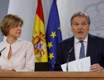 Méndez de Vigo en el Consejo de Ministros./EFE