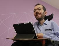 Pablo Echenique, líder de Podemos en Zaragoza