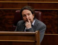Fotografía de Pablo Iglesias, líder de Podemos