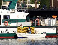 Fallece un niño al chocar dos embarcaciones en Algeciras (Cádiz)