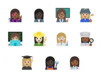 Los nuevos emojis de mujeres harán más que casarse y cortarse el pelo